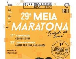 "Banner 29ª Meia Maratona ""Cidade de Ovar"""