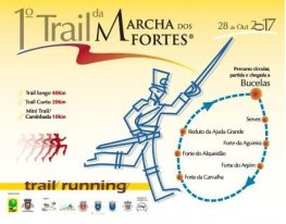 Banner I Trail da Marcha dos Fortes