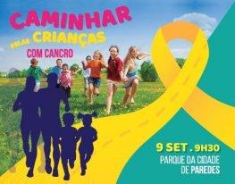 Banner Caminhada e Corrida Solidária - Paredes