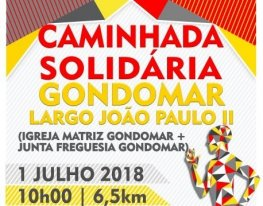 Banner Caminhada Solidária / Liga Portuguesa Contra o Cancro