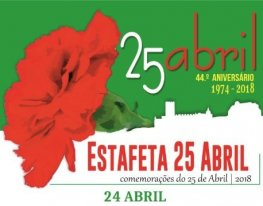 Banner Estafeta 25 de Abril - Arraiolos