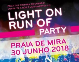 Banner Light on Run of Party