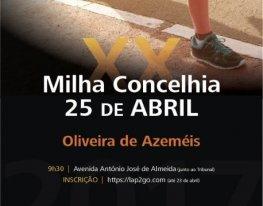 Banner Milha Concelhia 25 de Abril