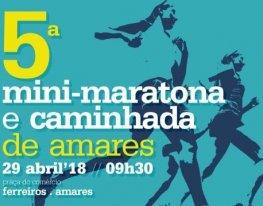 Banner Mini-Maratona e Caminhada de Amares