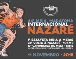 Banner Meia Maratona Internacional da Nazaré