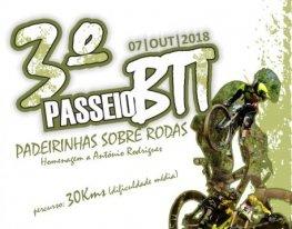 Banner Passeio BTT Padeirinhas Sobre Rodas