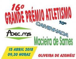 Banner Prova de Atletismo de Macieira de Sarnes