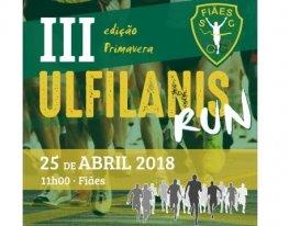 Banner III Ulfilanis Run (Edição Primavera)