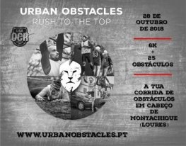 Banner Urban Obstacles - Cabeço de Montachique
