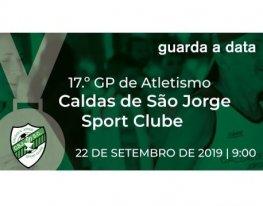 Banner Grande Premio Caldas de São Jorge