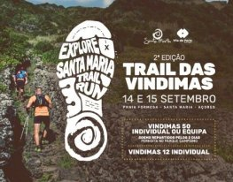Banner Explore Santa Maria Trail Run - Trail das Vindimas