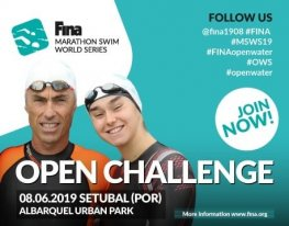 Banner FINA Marathon Swim World Series - OPEN CHALLENGE