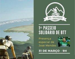Banner Passeio Solidário de BTT de Amares