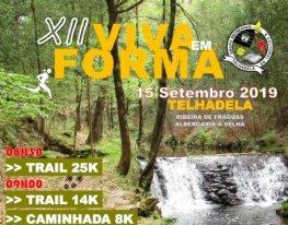 """Banner Trail """"Viva em Forma"""""""