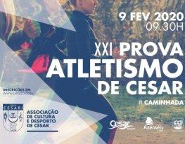 Banner Prova de Atletismo de Cesar