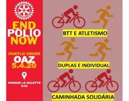Banner Duatlo Cross Solidário BTT Isolamais/Pinheirense