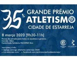 Banner Grande Prémio de Atletismo Estarreja