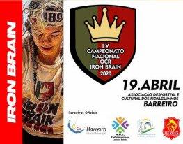 Banner Campeonato Nacional de Corridas de Obstáculos Iron Brain
