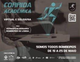 Banner Corrida Académica - Virtual - Somos todos Bombeiros