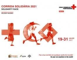 Banner Corrida Solidária Cruz Vermelha