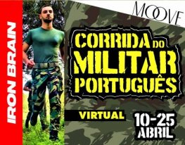 Banner Corrida do Militar Português - Virtual