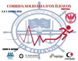 Banner Corrida Solidária D'Os Ilhavos - Virtual