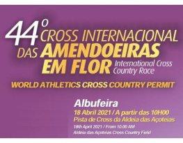 Banner Cross Internacional das Amendoeiras em Flor