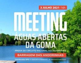 Banner Meeting Águas Abertas da Goma