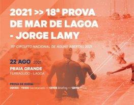 Banner Prova de Mar de Lagoa - Jorge Lamy