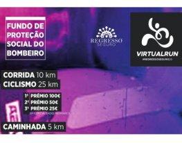 Banner Virtual Run Regresso Seguro